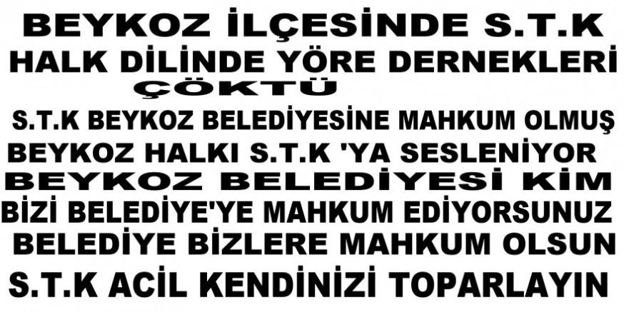 ACİL YARDIM BEKLİYOR Beykoz ilçesinde STK çöküşü