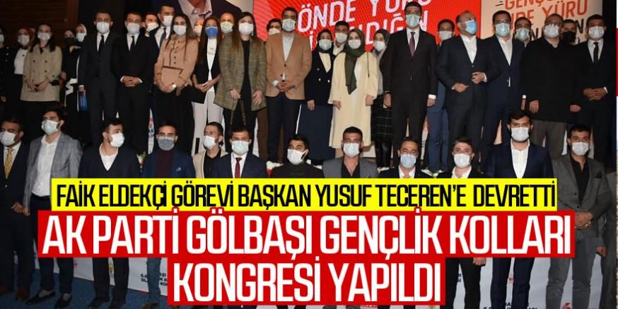 AK Parti Gölbaşı Gençlik Kolları Kongresi yapıldı Kaynak: AK Parti Gölbaşı Gençlik Kolları Kongresi yapıldı