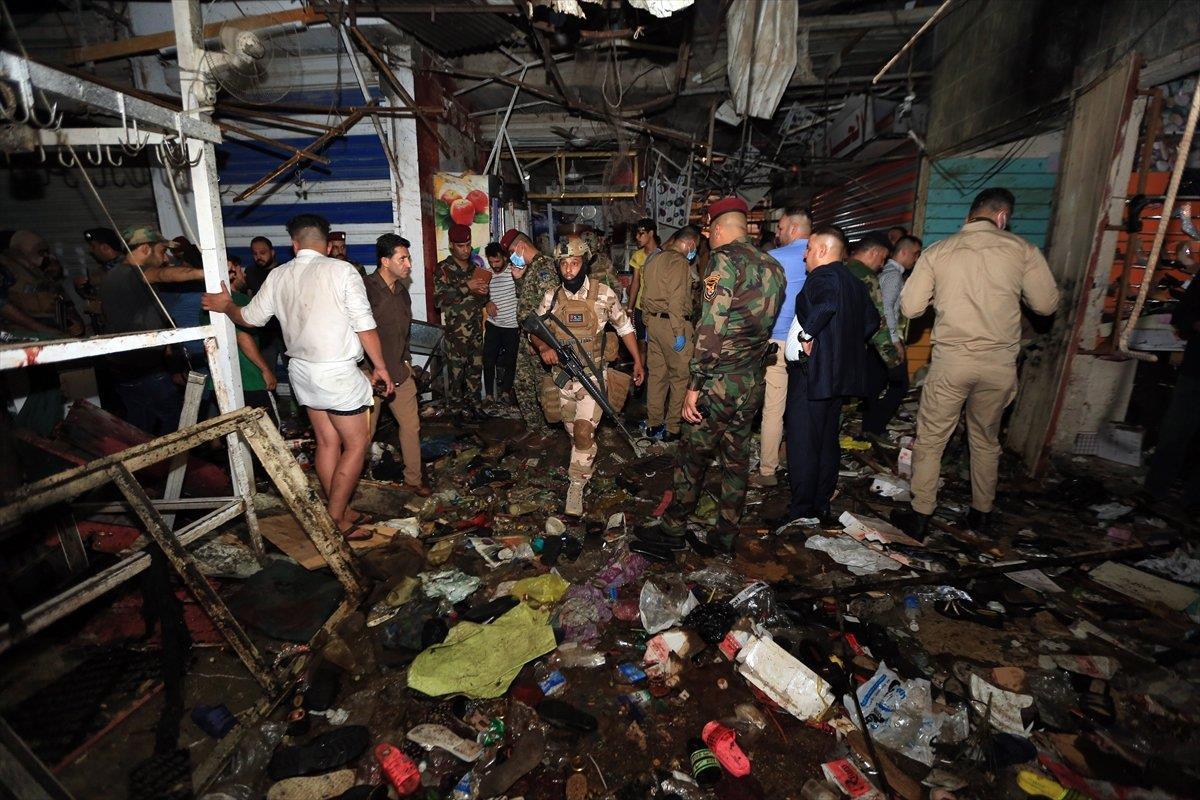 Bağdat'ta halk pazarına terör saldırısı: 33 ölü, 61 yaralı
