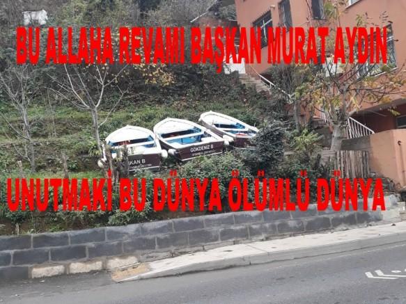 Başkan Murat Aydın ne bu öfke ne bu hırs garezin kime