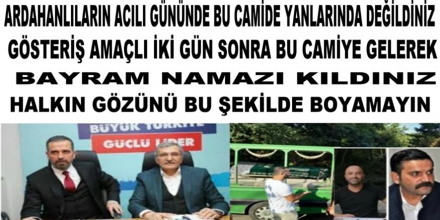 Beykoz halkından Murat Aydına ve Hanefi Dilmaç'a  büyük tepki