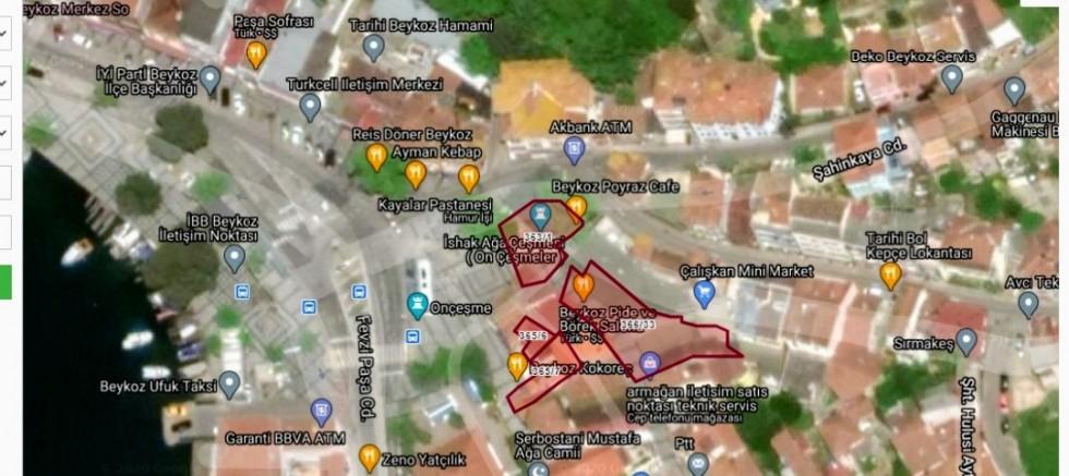 Beykoz pide börek işletmesi kamuya ait çıkma yaptığının resimlerde ispatı