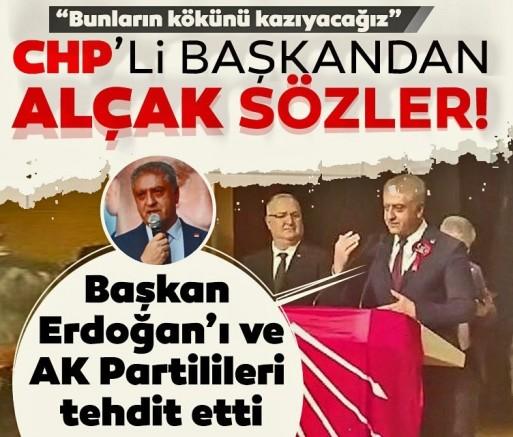 CHP'li Cemal Emir'den skandal sözler! Hem Başkan Erdoğan'ı hem AK Partilileri böyle tehdit etti