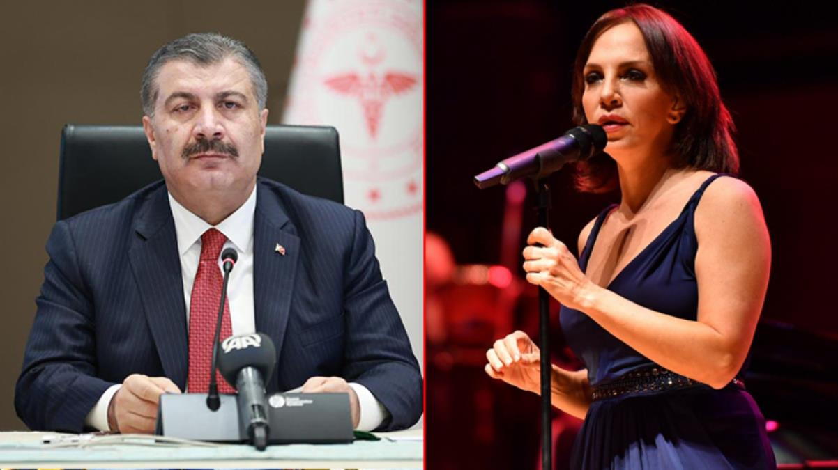 Fahrettin Koca'dan Sertab Erener'e yeniden yorumladığı