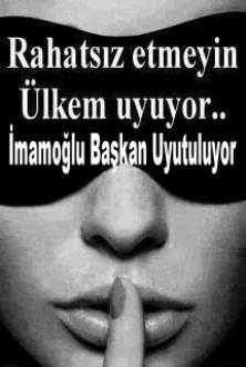 İstanbul Büyük Şehir  Belediye Başkanı Ekrem İmamoğlu Beykoz'a sahip çıkamıyor .