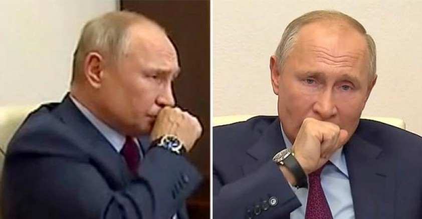 Öksürük krizine giren Putin'in sağlık durumu hakkında bomba iddia: Kanser nedeniyle ameliyat oldu