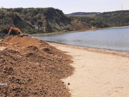 Poyraz köyü plajı durduruldu haber ajansımızın farkı bu