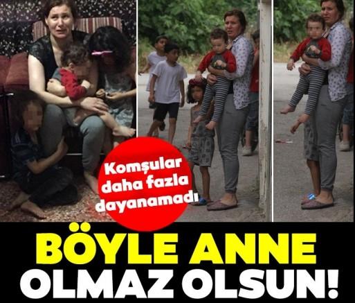 SON DAKİKA Adana'da anne dayağı! Komşular seslere dayanamadı!