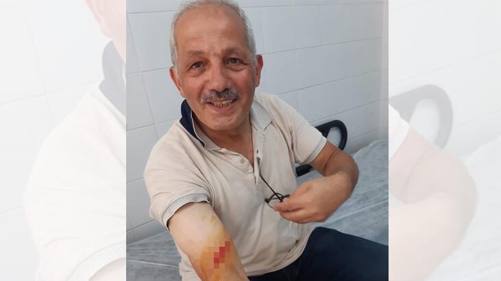Trabzon'da belediye başkanı kurban keserken yaralandı