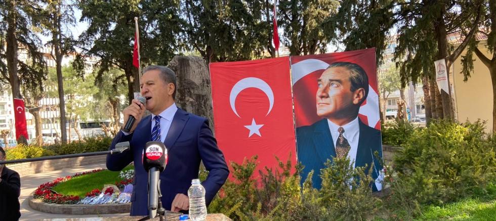 Türkiye Değişim Partisi Genel Başkanı Mustafa Sarıgül, 8 Mart Dünya Emekçi Kadınlar günü münasebetiyle,